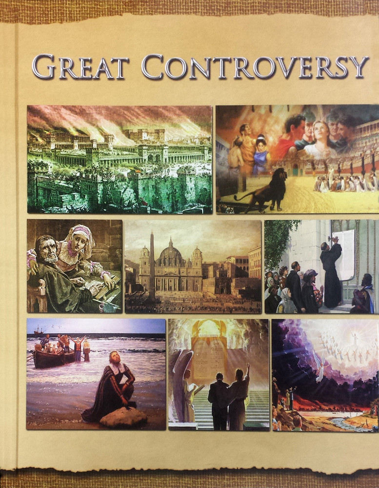 Great Controversy - hard cover and fully illustrated