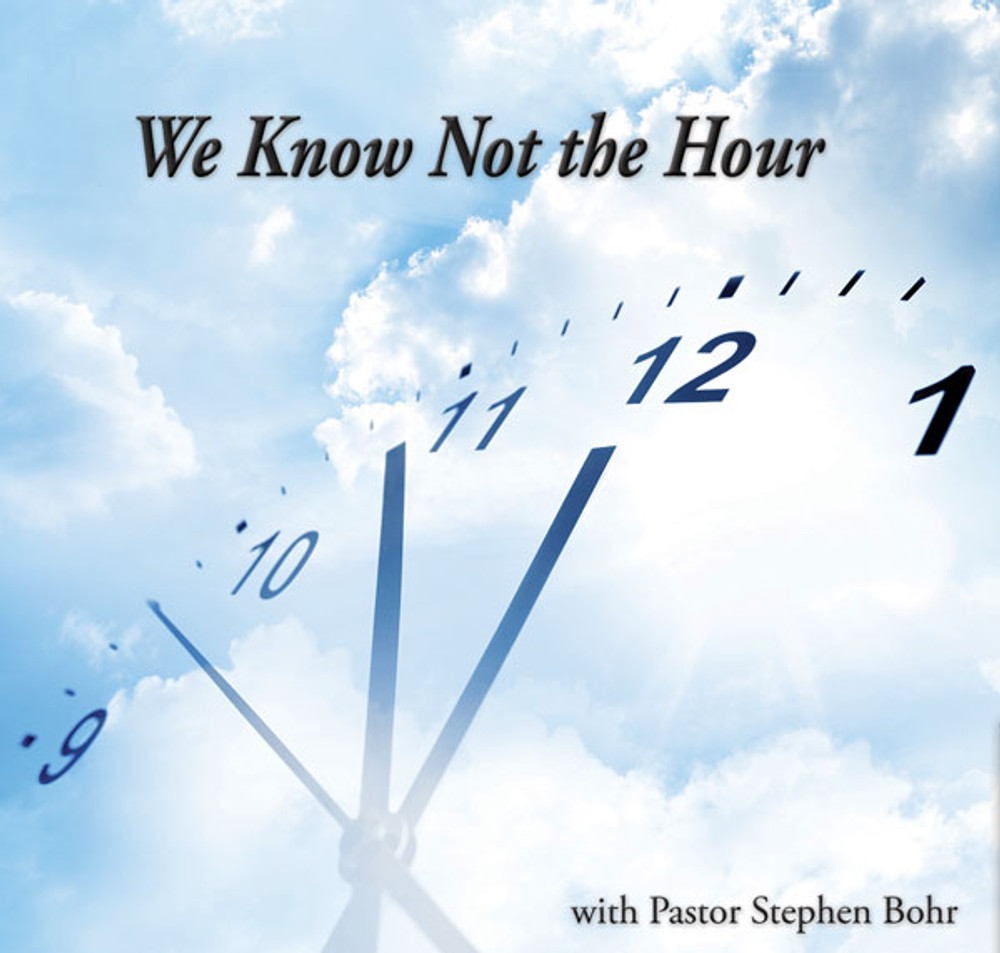 We Know Not The Hour - CD Singles