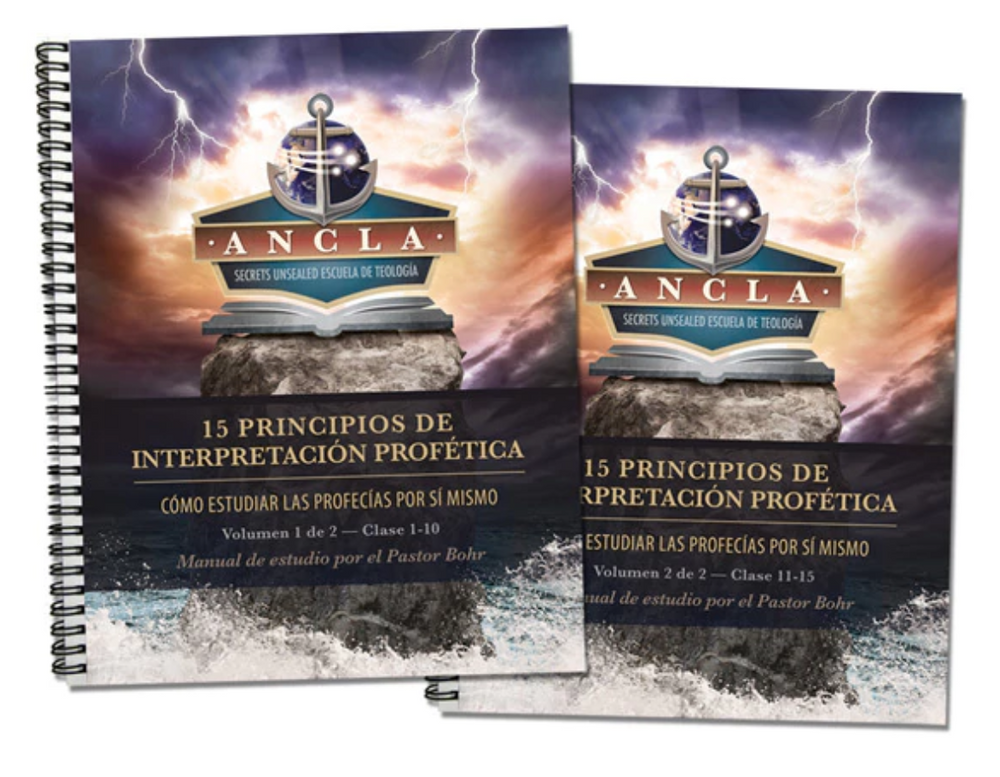15 Principios de Interpretación Profética Tomo 1 y 2 -  PDF Manual de Estudio Descarga Digital