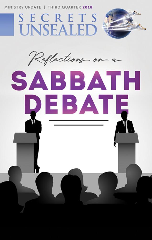Reflections on a Sabbath Debate