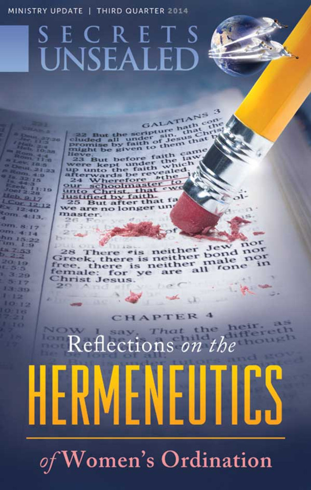 Reflections on the Hermeneutics of Women's Ordination Newsletter