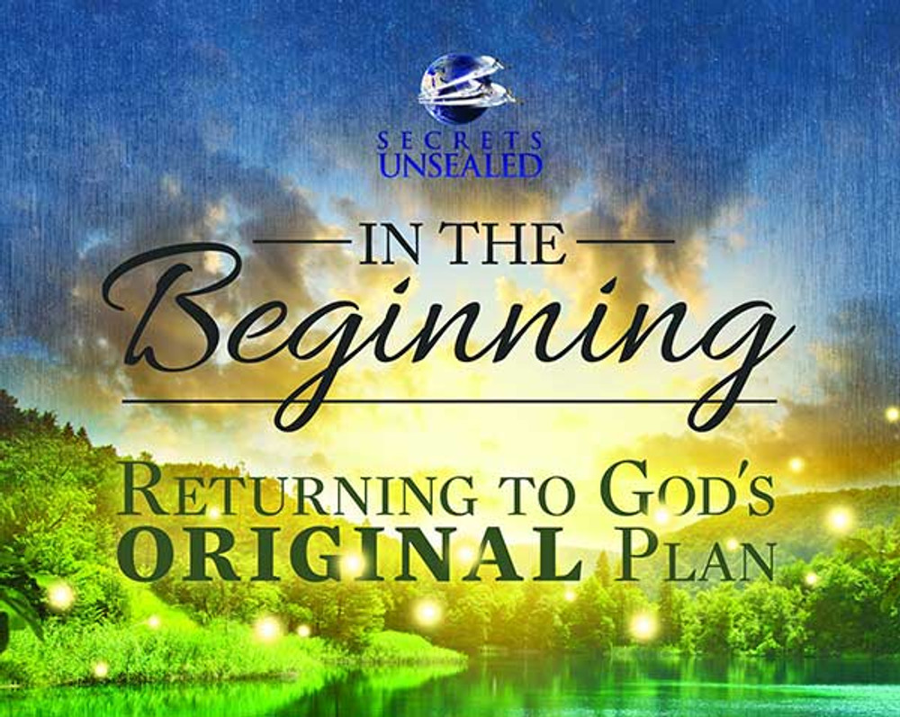 In The Beginning: Returning To God's Plan