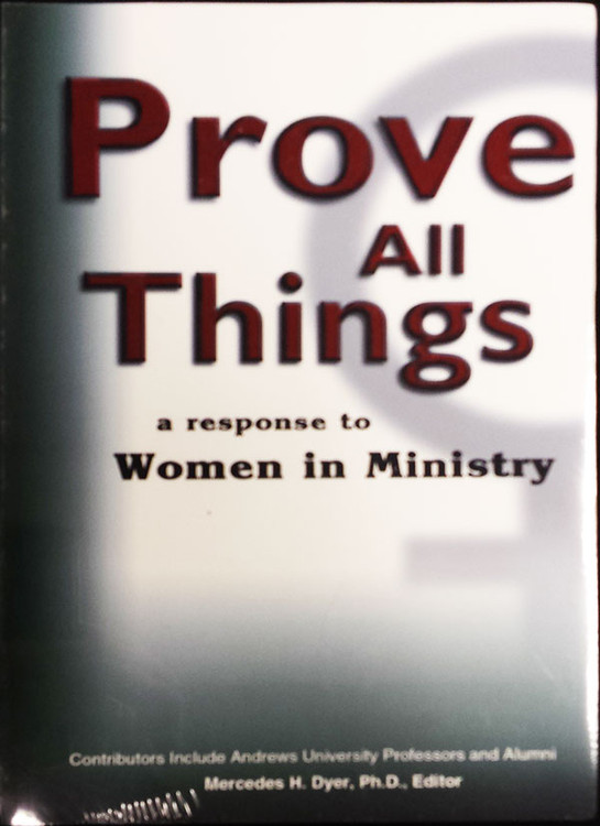 Prove All Things - Book