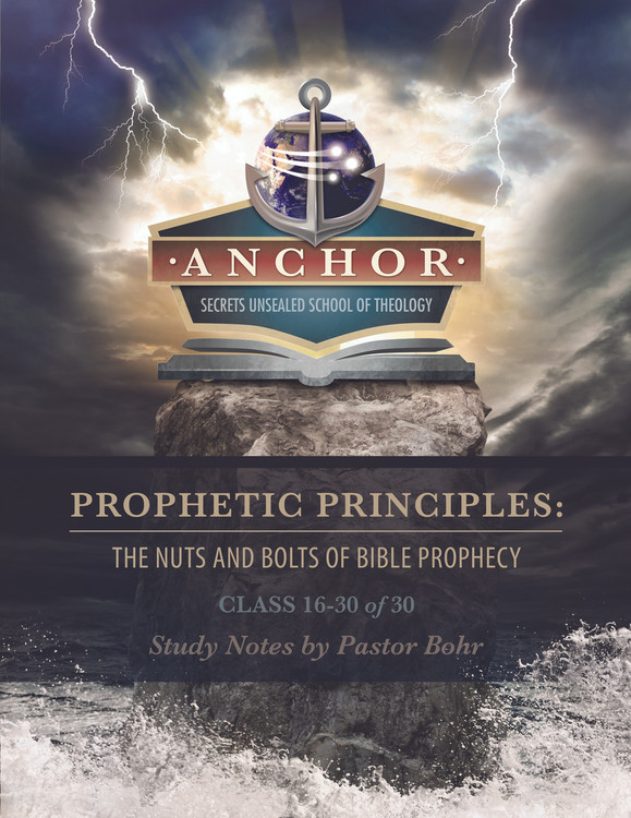 Prophetic Principles Class 16-30 of 30 - PDF Download