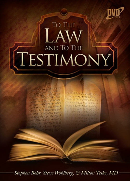 To The Law and to The Testimony - PDF Download