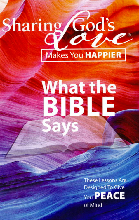 What The Bible Says - 25 Bible Lessons all in one