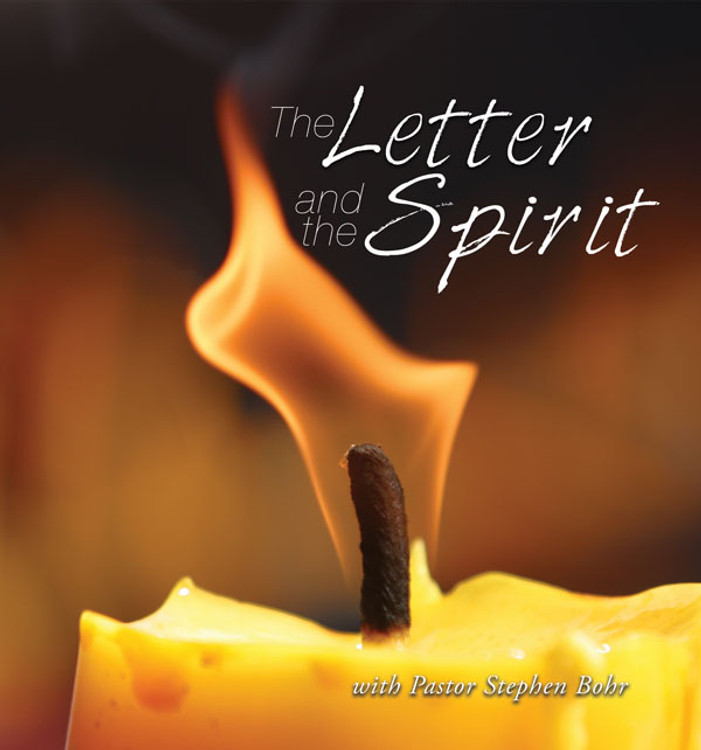 The Letter and the Spirit - MP3 Set