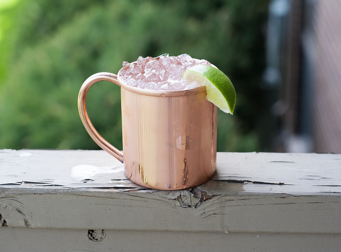 Copper Moscow Mule Mugs 10 Pack of 14 oz