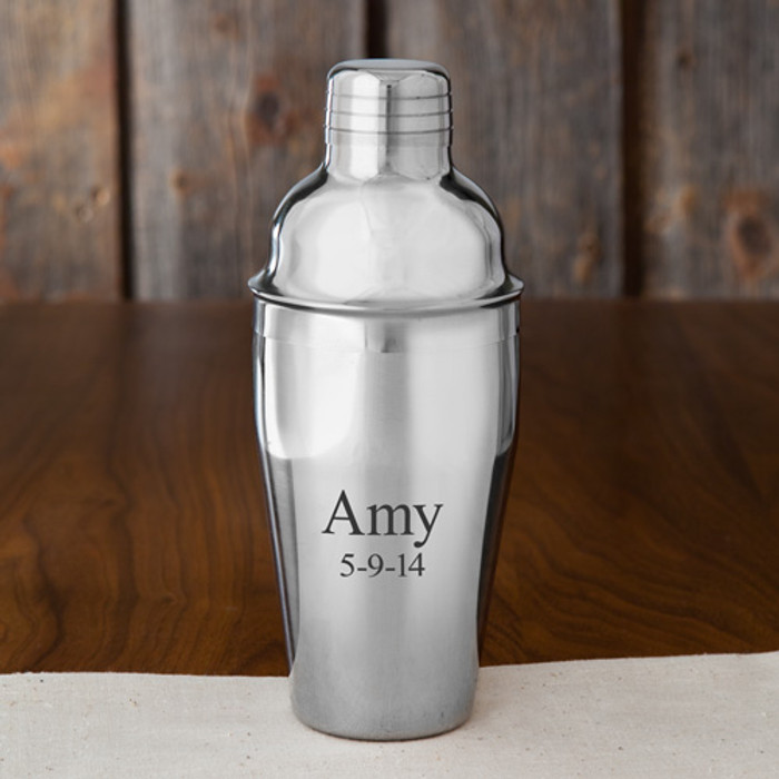20-oz. Personalized Stainless Steel Shaker