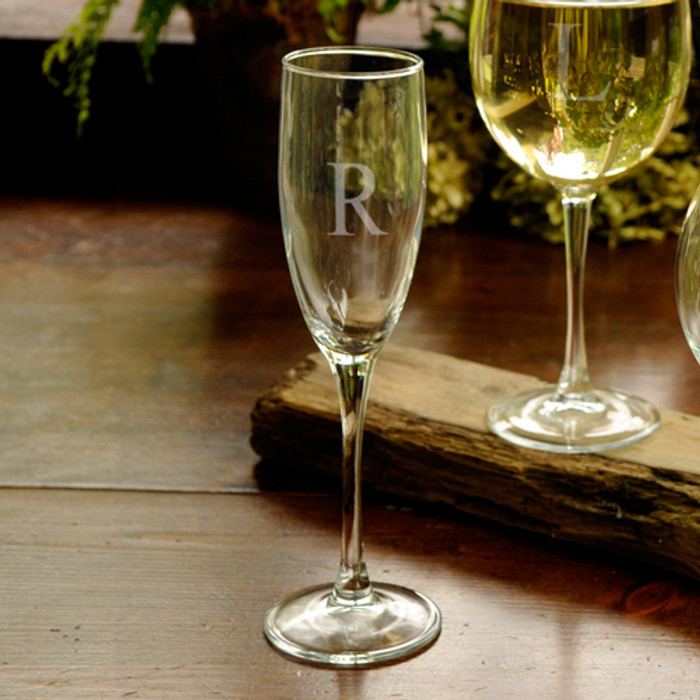 Personalized Toasting Champagne Glass