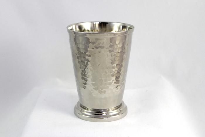 12 oz Hammered Nickel Mint Julep Cup