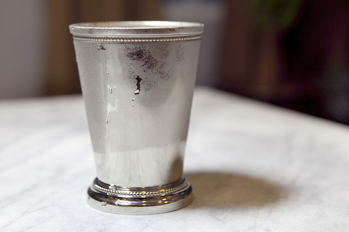Nickel Mint Julep Cup