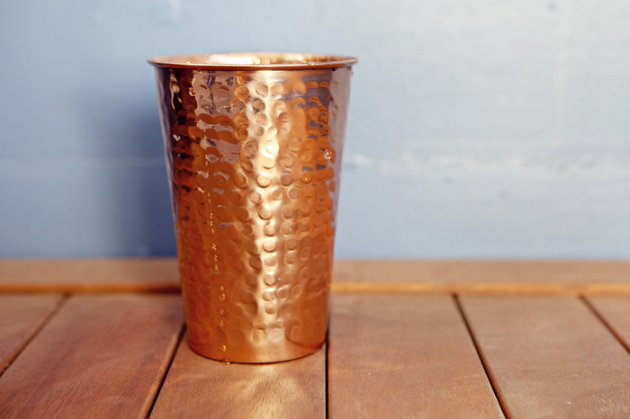 Hammered Copper Tumbler Alchemade