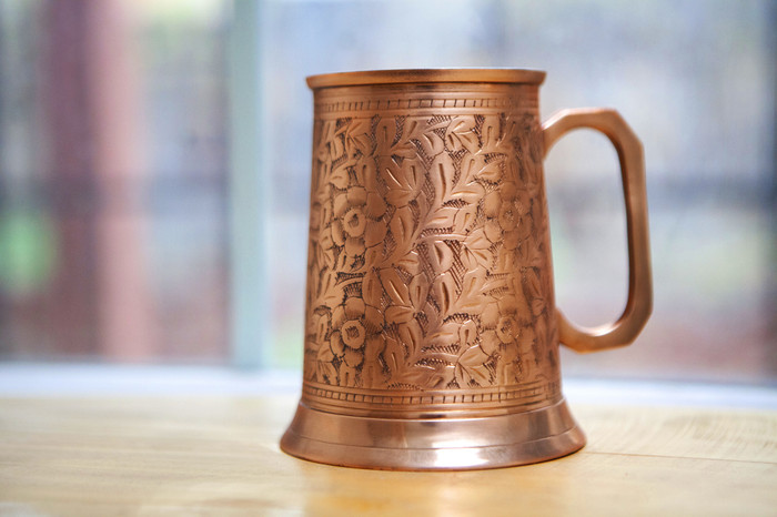 20 oz Copper Antique Beer Stein