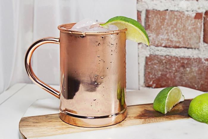 16oz Copper Mug