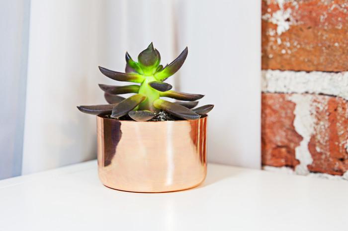 """3"""" Copper Planter"""