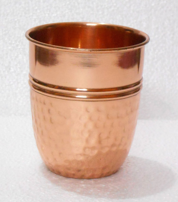 Half-Hammered Copper Cup