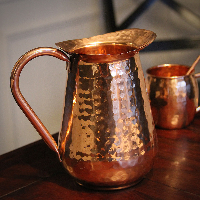 Traditional Copper Pitcher