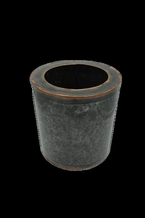 Small Black Antique Iron Planter