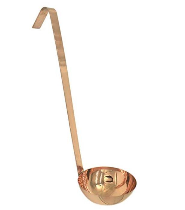 Copper Ladle - 100% Pure Heavy Gauge Copper 6 Ounce