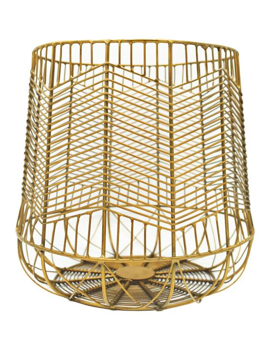 Brass Plated Multipurpose Basket