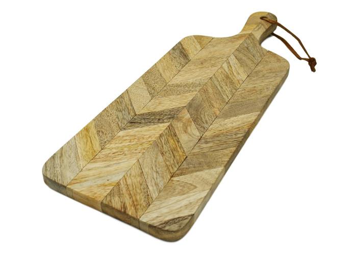 Mango Wood Mosaic Cutting Board