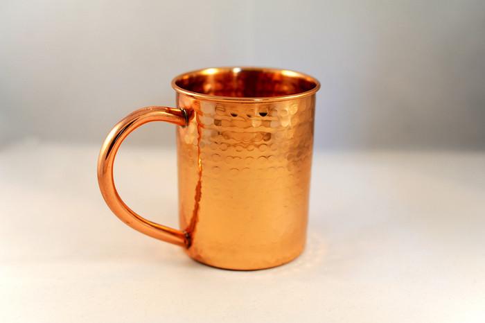 Hammered Copper Mug Moscow Mule 12 oz