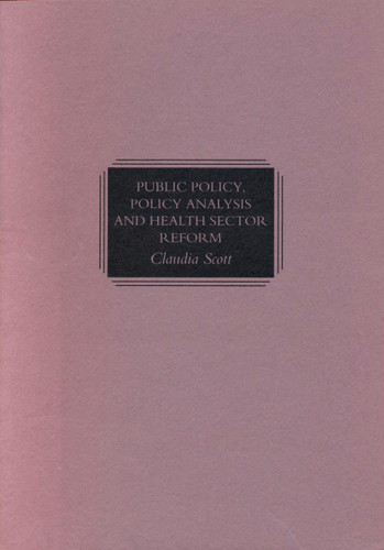 Public Policy, Policy Analysis...