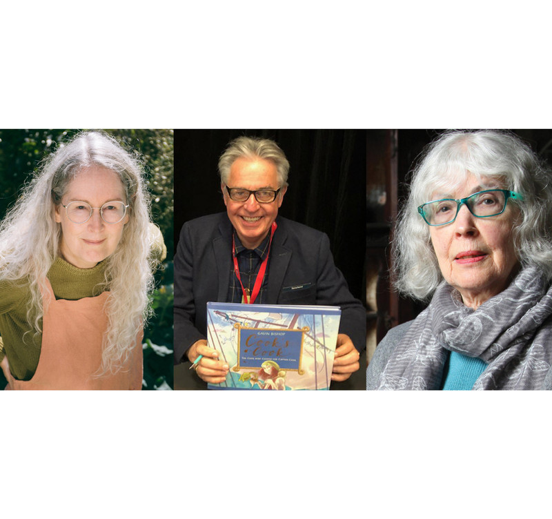 Congratulations to Elizabeth Knox, Fleur Adcock, and Gavin Bishop! PM Awardees for Literary Achievement