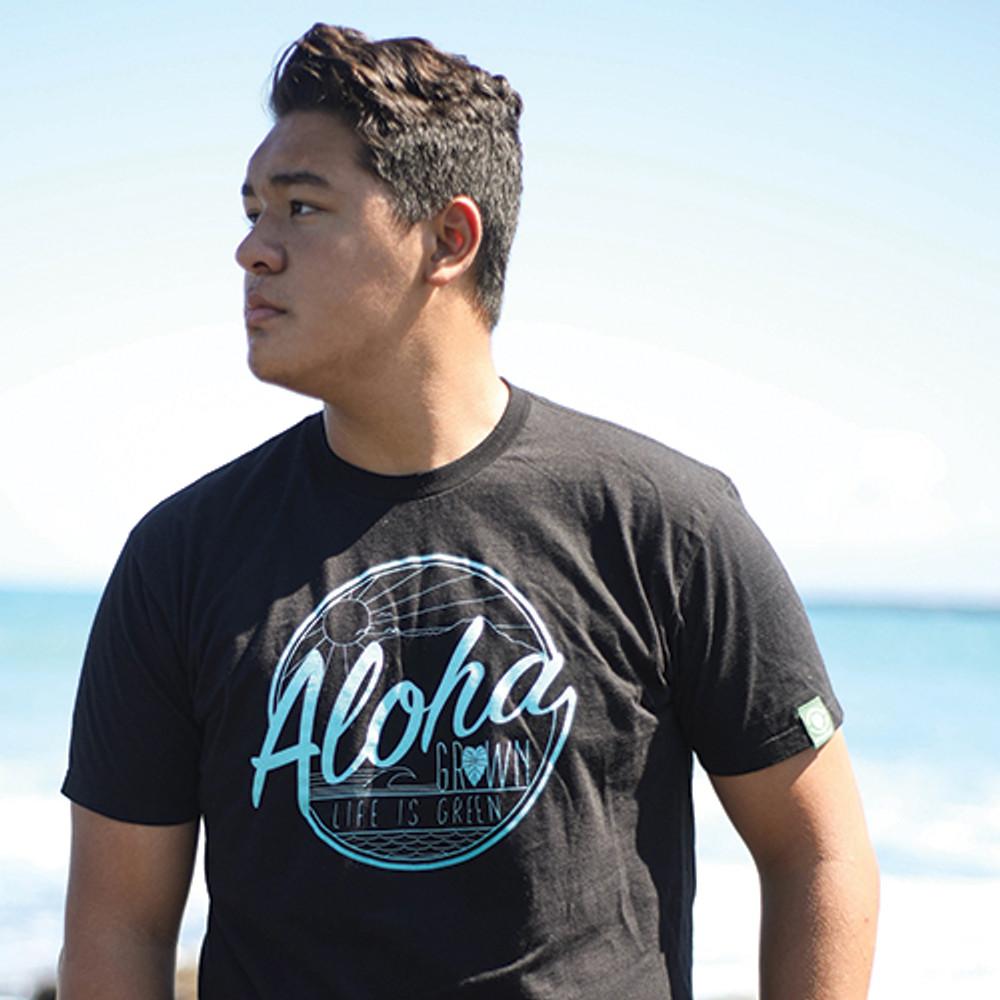 "Aloha Grown ""Life is Green"" Tee"