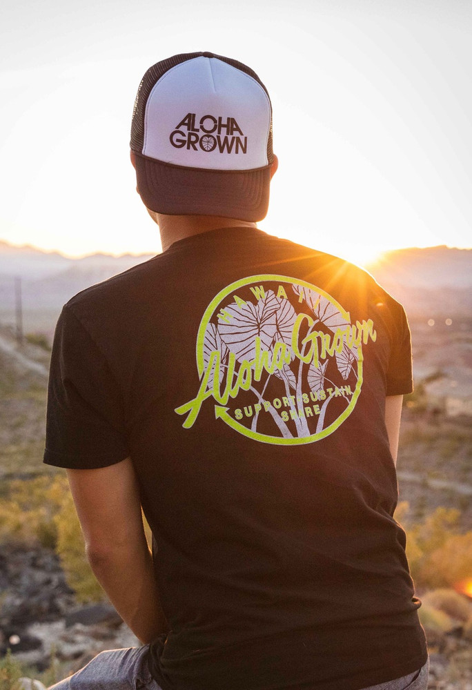 "Aloha Grown ""Taro Patch"" Tee"