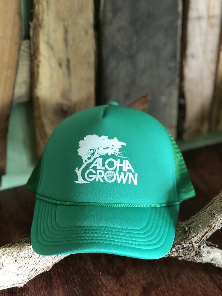 """Aloha Grown """"Roots"""" Trucker Cap"""