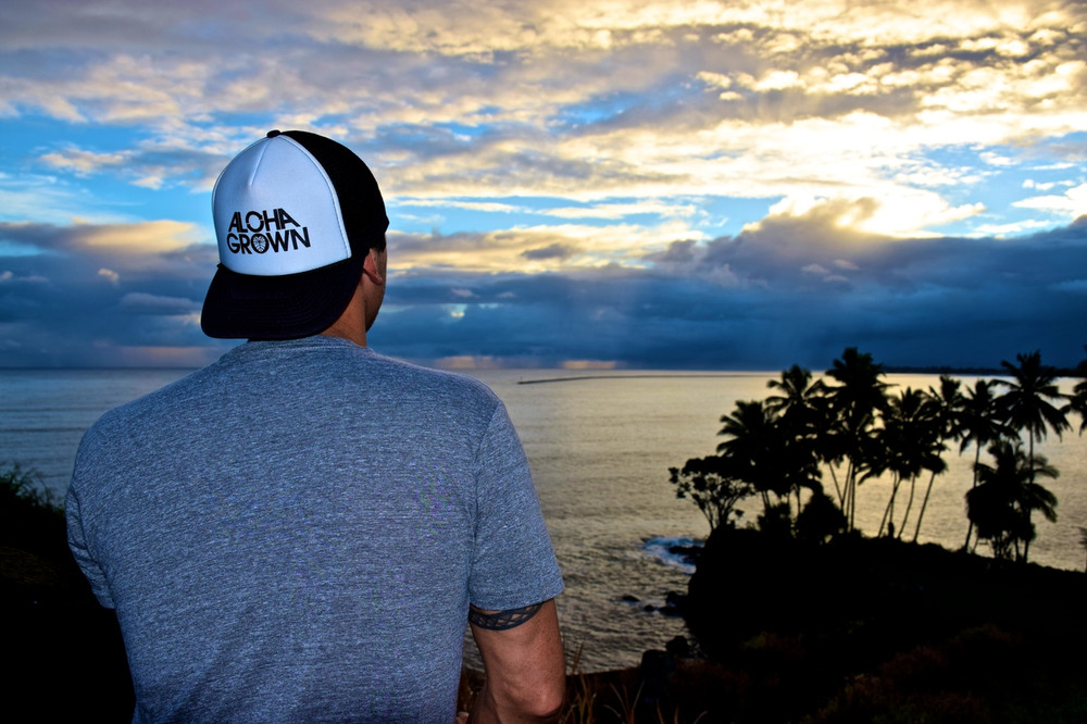 Aloha Grown Logo Trucker Cap