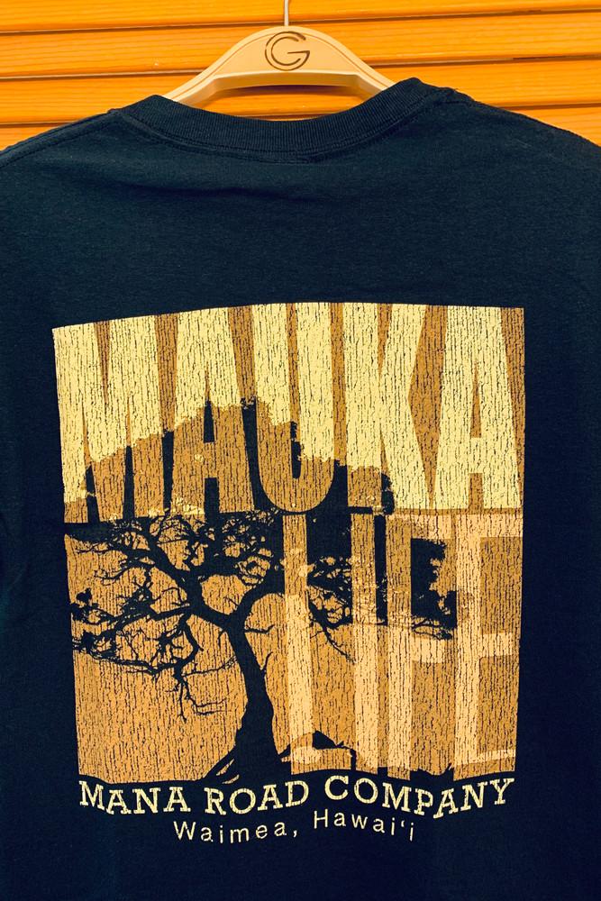 """Mana Road """"Mauka Life"""" in black"""