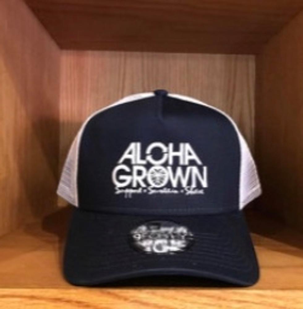 Aloha Grown New Era Navy Cap