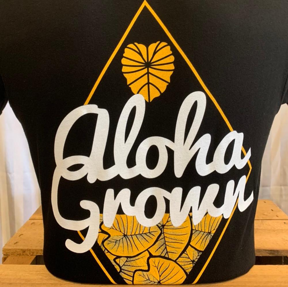 Aloha Grown Diamond Kalo Tee