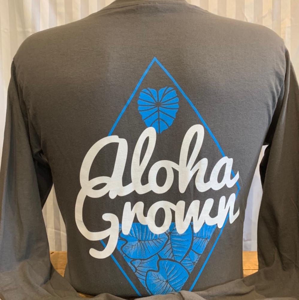 AG Kalo Diamond Long Sleeve Tee Gry
