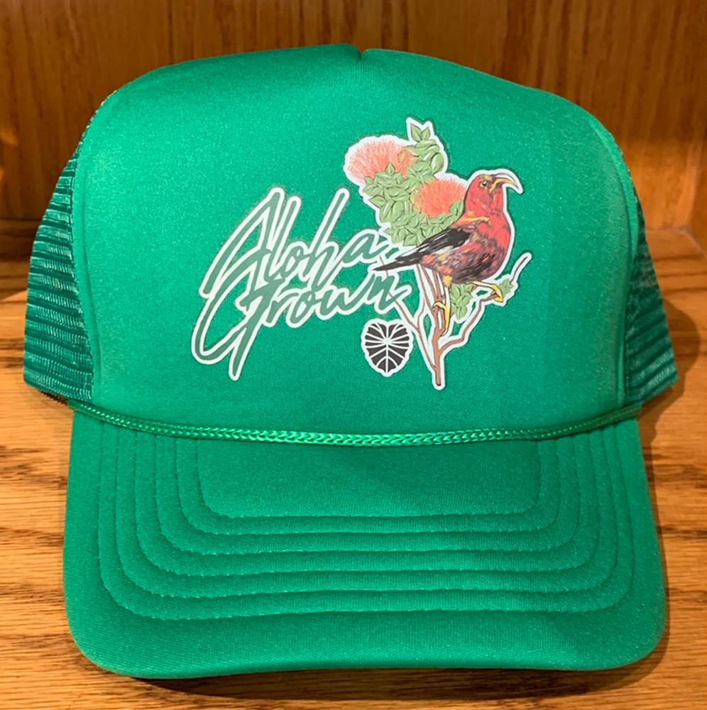 I'iwi Green Cap