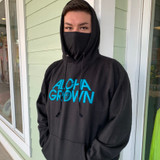 AG Gaiter Hoodie in Black