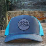 Aloha Grown Tagit cap in neon blue