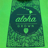 Tribal Roots Tee in Apple Green