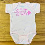 Malama Da 'Aina Onesie in Pink