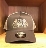 Aloha Grown New Era Chocolate Cap