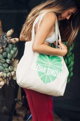 """Aloha Grown """"Kalo"""" Tote Bag"""
