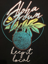 "Aloha Grown ""Keep it Local"" Men's Tee"