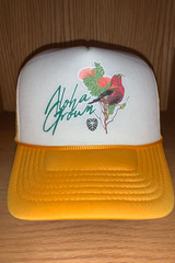 Yellow I'iwi Trucker Cap