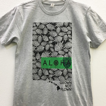 "Aloha Grown ""Lauae All Over"" Tee"