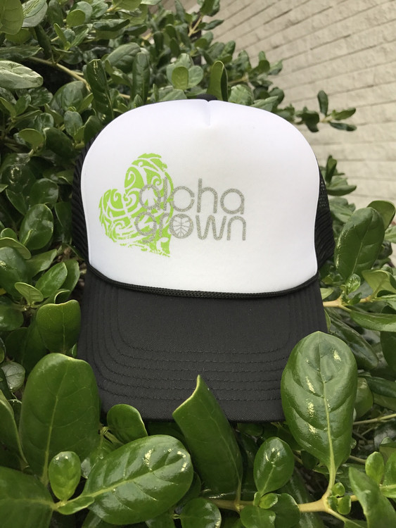 Aloha Grown Heart Trucker Cap