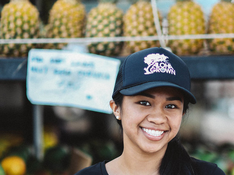 "Aloha Grown ""Roots"" Trucker Cap"