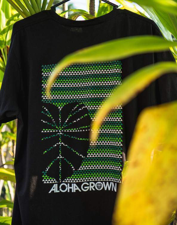 "Aloha Grown ""Kalo Triangles"" Tee"